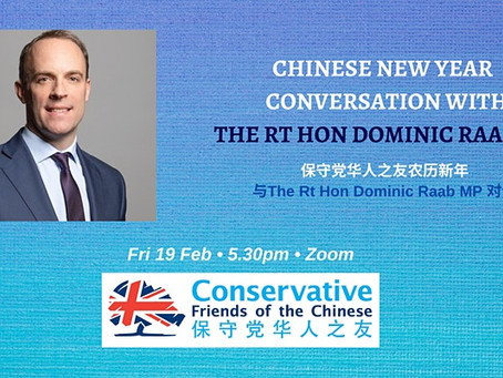 Chinese New Year Conversation with Dominic Raab