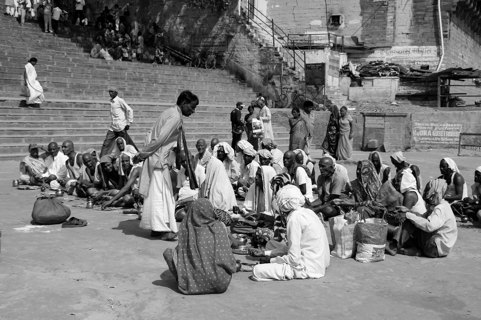 Prayers, Varanasi, India