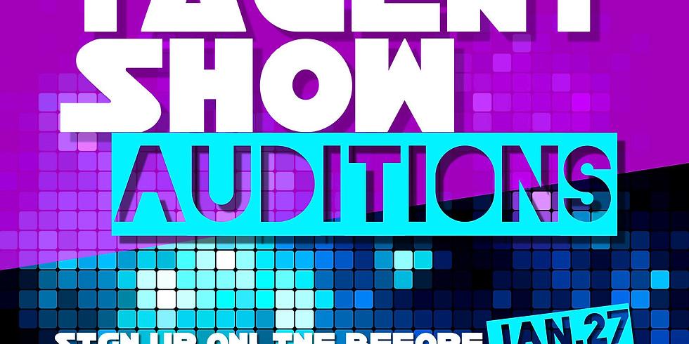 Talent Show Pre-Sale