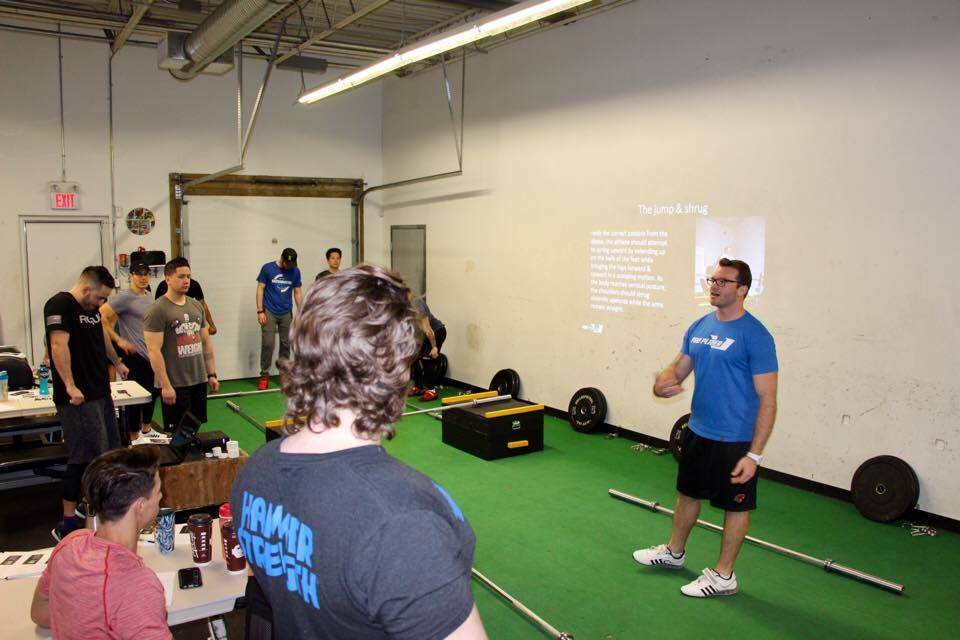 APCC Weightlifting Seminar