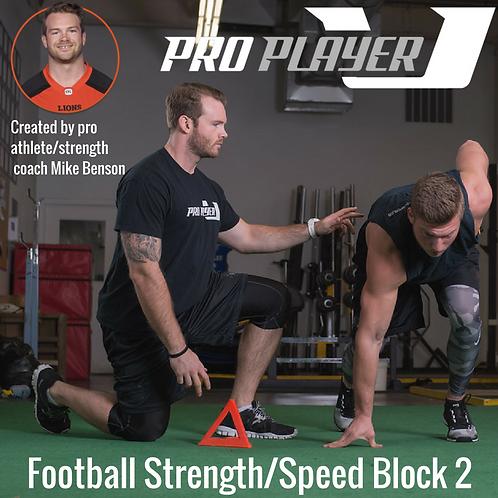 Football Strength/Speed Block 1