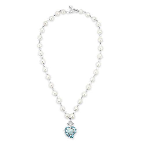 Rocky Radiant Heart (Opal/Pearls)