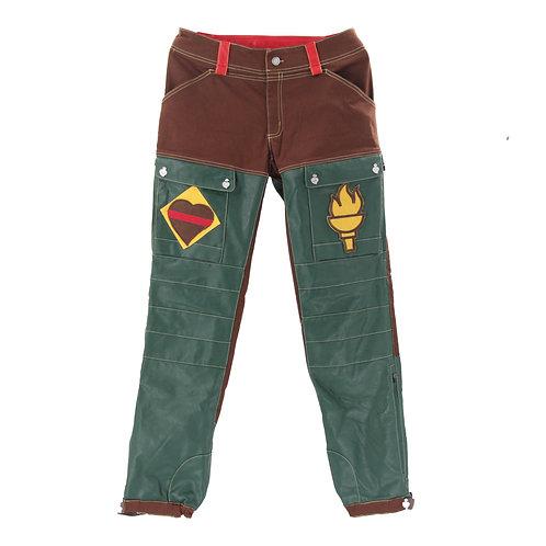 Romping Cargo Pants (Green/Brown)
