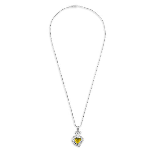 Radiant Rope Necklace (Canary)