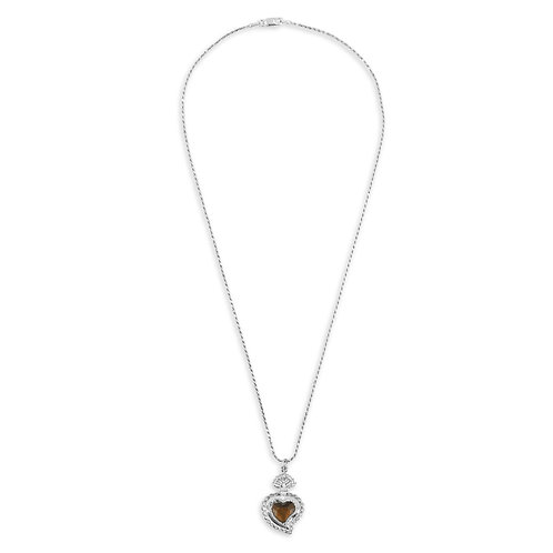 Radiant Rope Necklace (Brown)