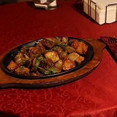 С говядиной и овощами по-осетински