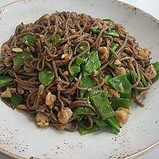 Лапша (рис) с морепродуктами
