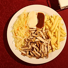 Шаурма-большая тарелка