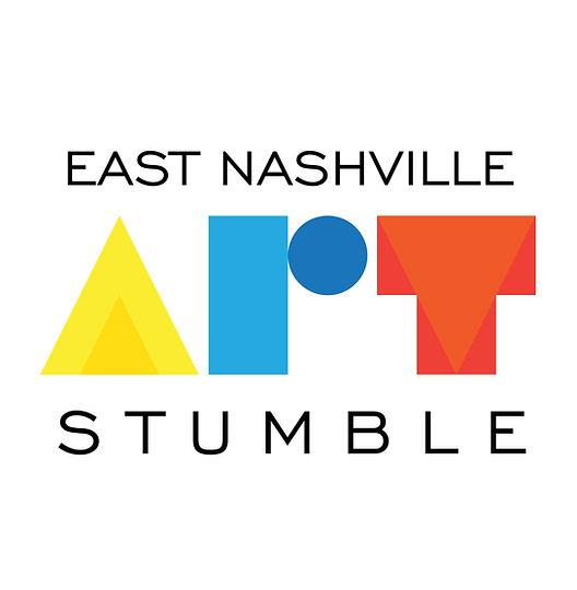 East Nashville Art Stumble Logo on White