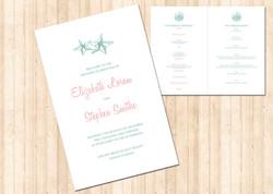 Beach Wedding Invitation Suite