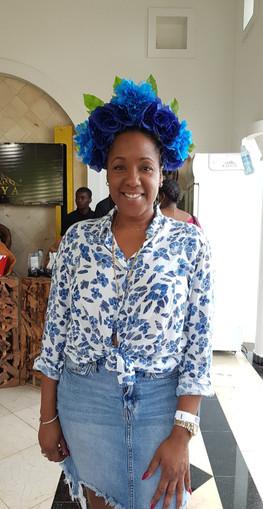 Marjorie a friend of Bloom Ayiti