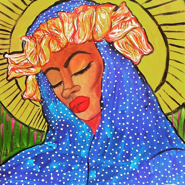 The Black Madonna: Blue Sky