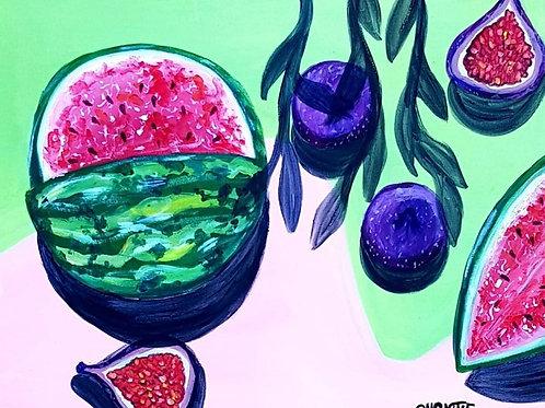 Morning Fruit Series
