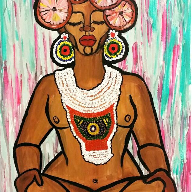 The Black Madonna: Namaste