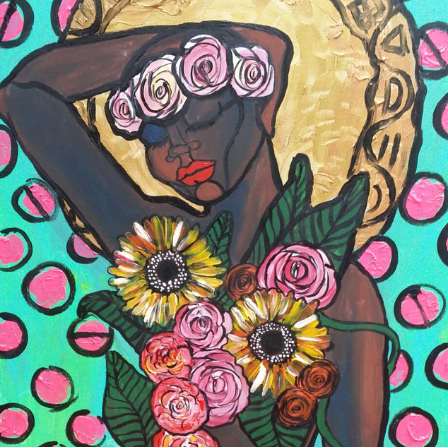 The Black Madonna: Blooming