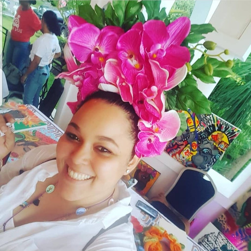 Beautiful Bloom Customer at Zen Ayiti