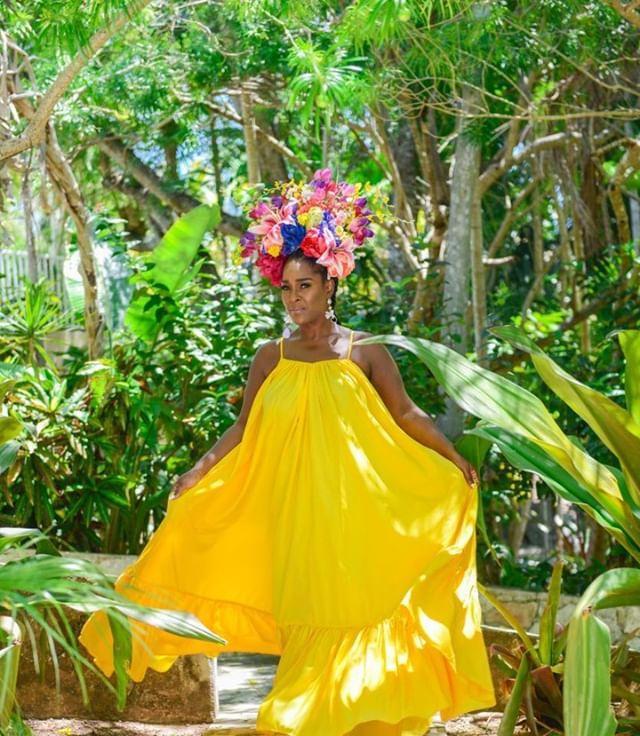 Chef Cynthia Pean in Bloom Ayiti