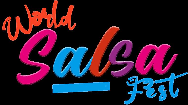 World Salsa Festival LOGO NEW MODEL by R