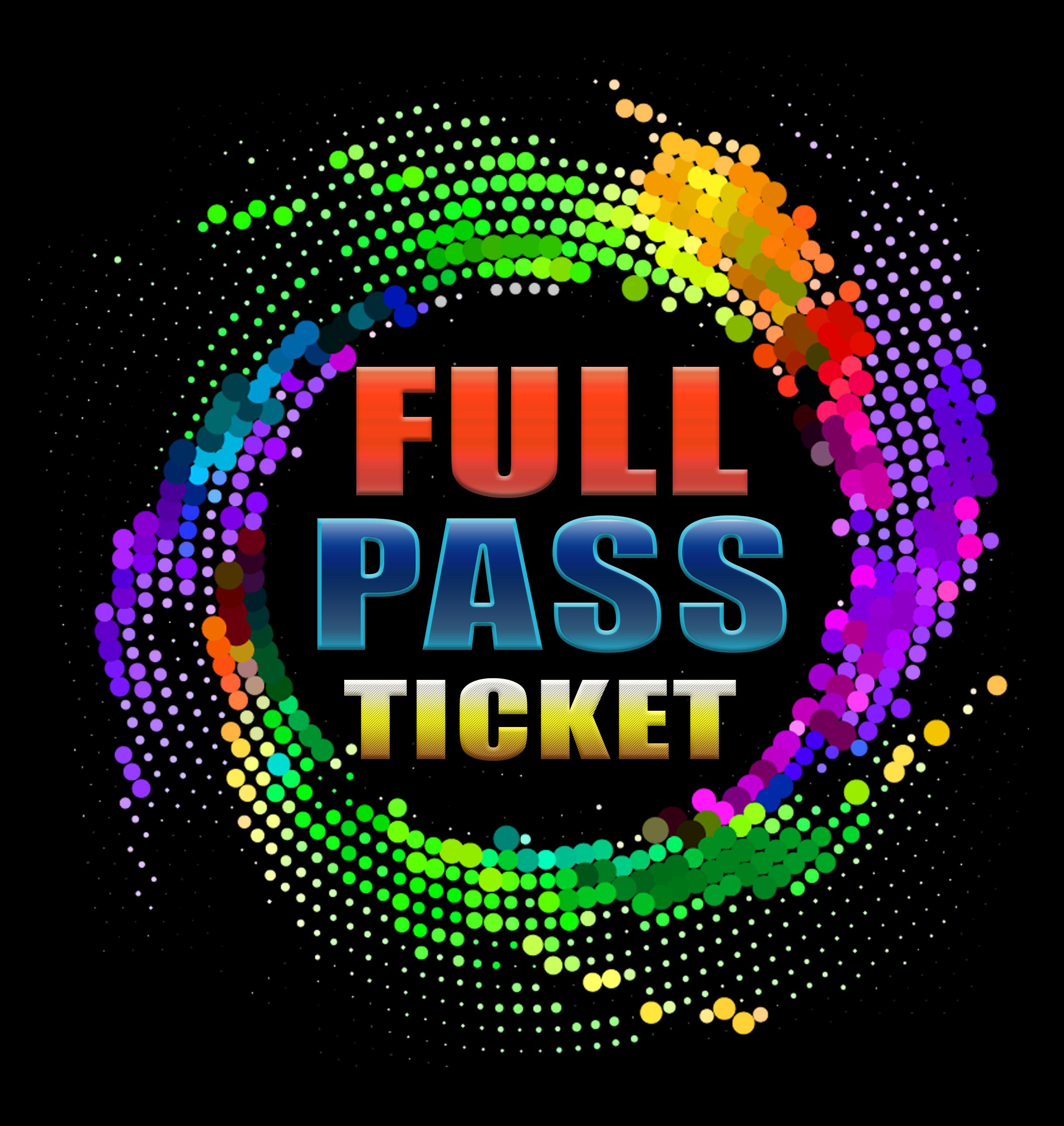 FULL PASS TICKET $119