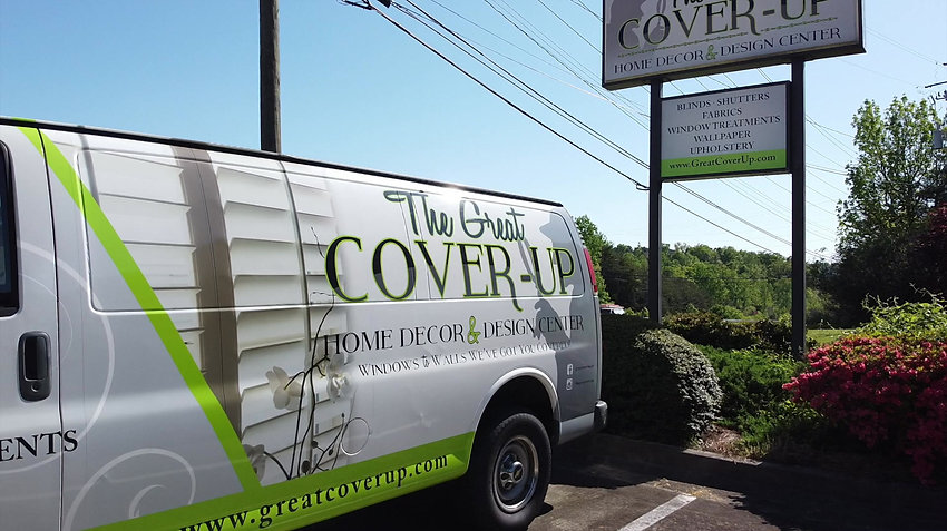 A Look Inside The Great Cover-Up's Interior Design Showroom in Gainesville, GA