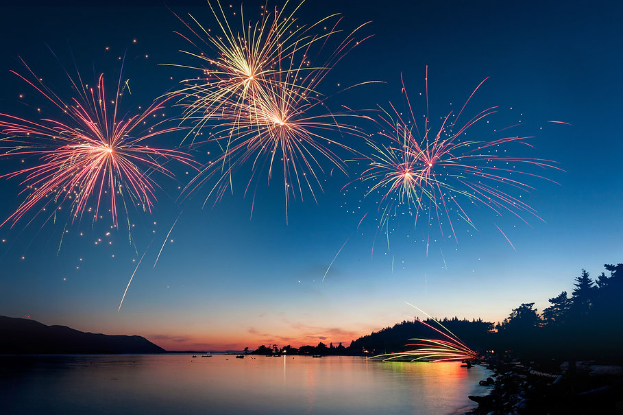 low-angle-view-of-firework-display-over-