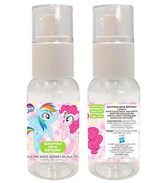HMLP0009 My Little Pony Pink  75% Alcohol Advanced Hand Sanitizer