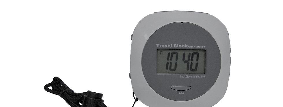 VAC-1000 Portable Vibration Alarm Clock