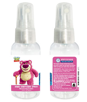 Disney DTS0049 LOSO 75% Alcohol Hand Sanitizing Spray