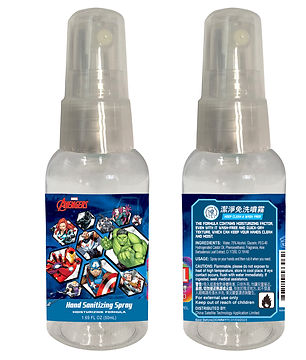 Marvel MAE0013 Avengers 75% Alcohol Hand Sanitizing Spray
