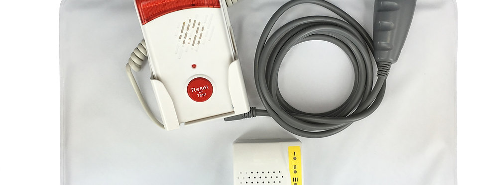 Fall Management Monitoring Alarm Kit with Chair Sensor Pad