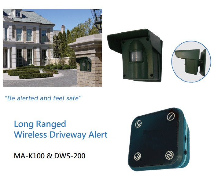 VENTURE's Long Ranged Wireless Driveway Alert