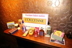 L'Occitane Lotion Station