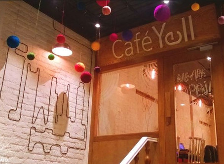"When your stomach 'yells', visit ""CAFE YELL"", Defence Colony"
