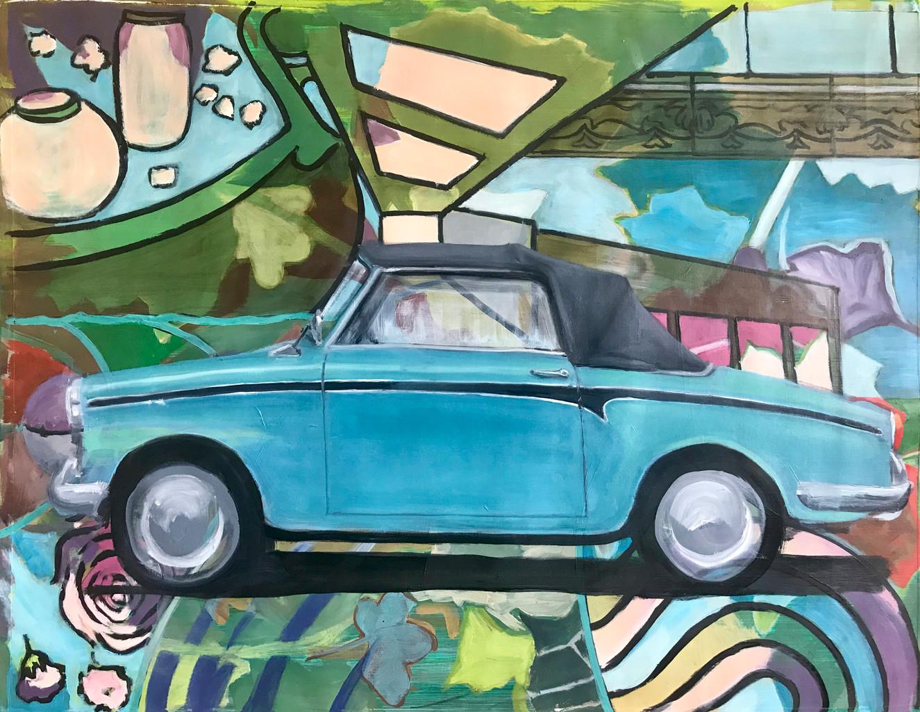 Ricky's car