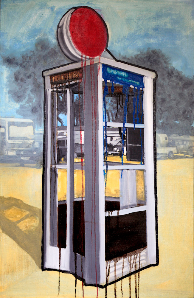 American icon - phone booth