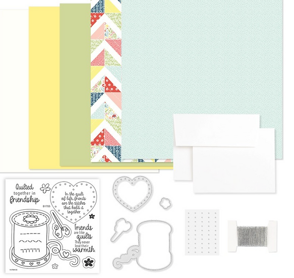 Stitched Together Card Kit