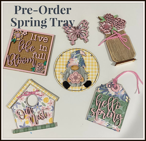 Spring Tier Tray Kit