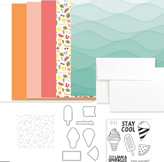 G1209 Summer Vibes Card Kit