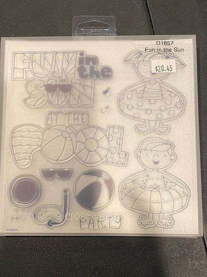 D1857 Fun In Sun Stamp Set