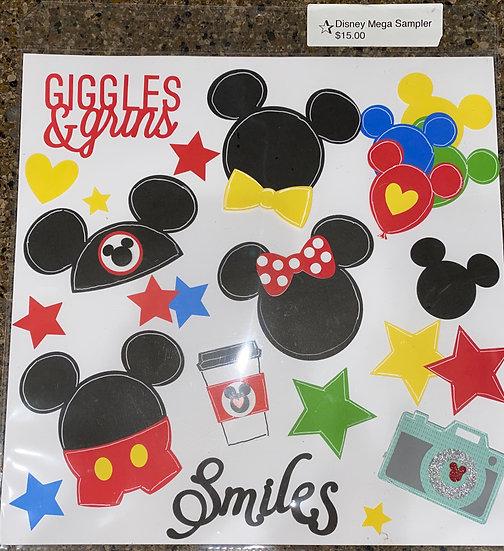 Disney Sampler Cricut cuts