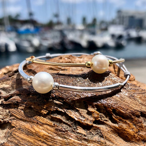 Bracelet Perle d'eau blanche ✨⚪️