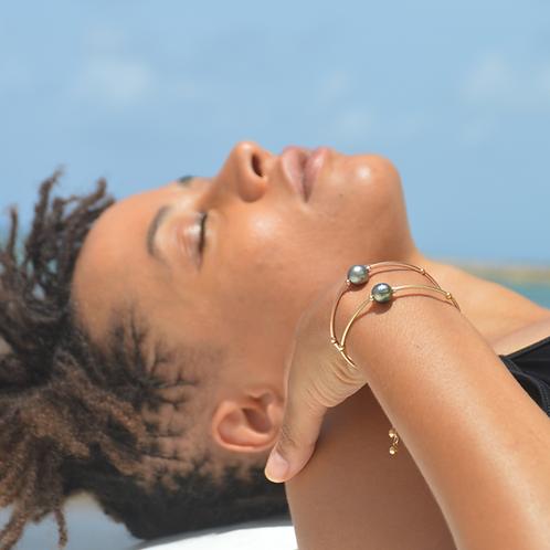 Bracelet perle de Tahiti 🌺🌸