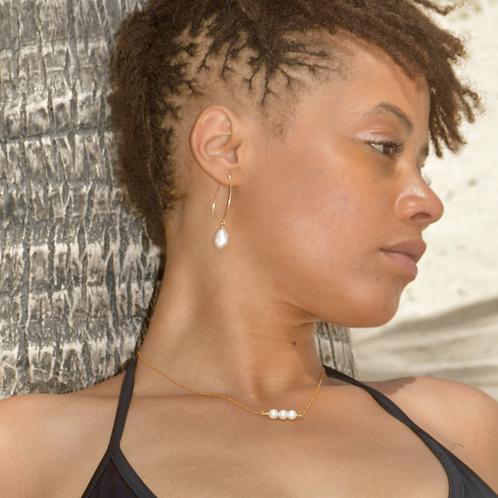 Crochets perles d'eau Blanches ✨⚪️