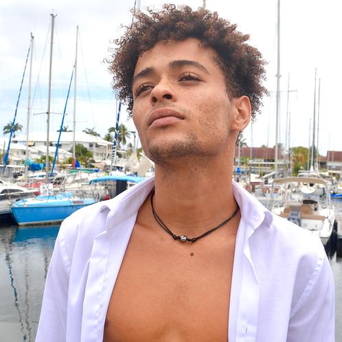 Collier perle de Tahiti wax🌵🌵