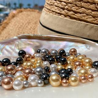 Perles nacrées de Swarovski