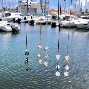 Collier Perles de Swarovski