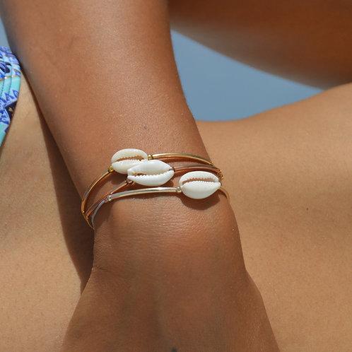 Bracelet cauri naturel 🐚🐚