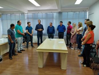 Obras anunciadas em janeiro pelo prefeito interino Adrianinho recebem ordem de serviço