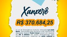 Xanxerê receberá 370 mil reais de incentivo a cultura a partir de lei de coautoria do Deputado Pedro
