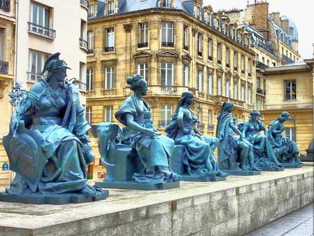 פסלי 6 היבשות ,  מוזיאון ד'אורסה , פריז